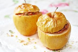 Осенний рецепт: яблоки на гриле