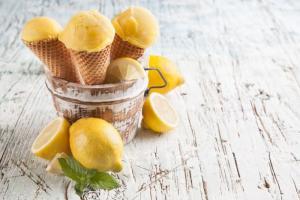 Рецепт мороженого с безе на гриле