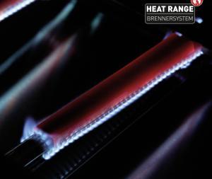 Фирменная запатентованная технология равномерного распределения тепла Heat range