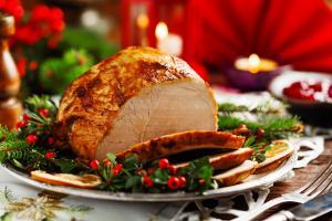 Рождественское меню на гриле