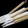 Фото 1 Набор принадлежностей для гриля с деревянными ручками