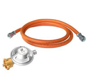 Набор для подключения оборудования к газовому баллону (редуктор 50 мбар и шланг)