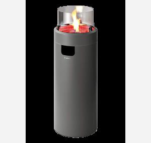 Вуличний газовий камін Enders NOVA LED L GREY
